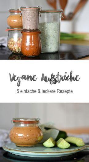 5 vegane Dips & Brotaufstriche #vejetaryentarifleri
