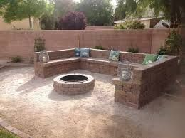 fire pit next to a koi pond - Google Search