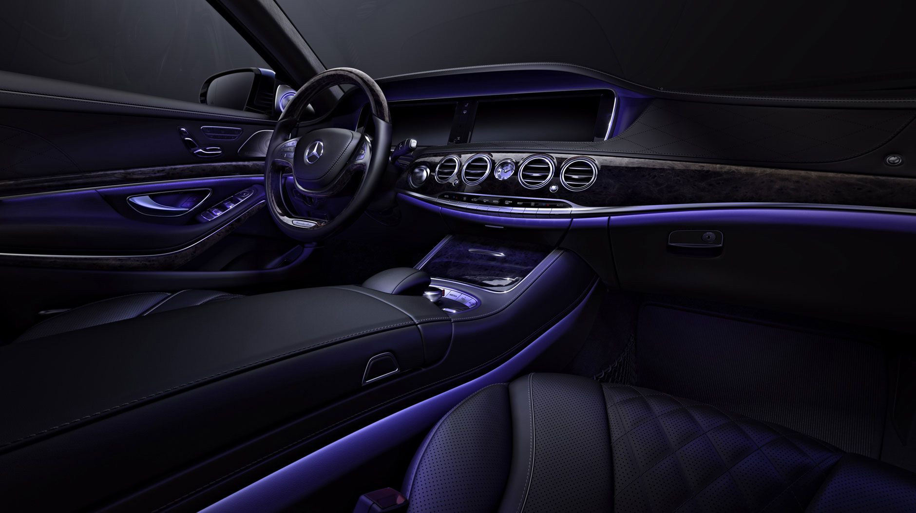 Mercedes benz s550 with black exclusive nappa leather and for Mercedes benz leather