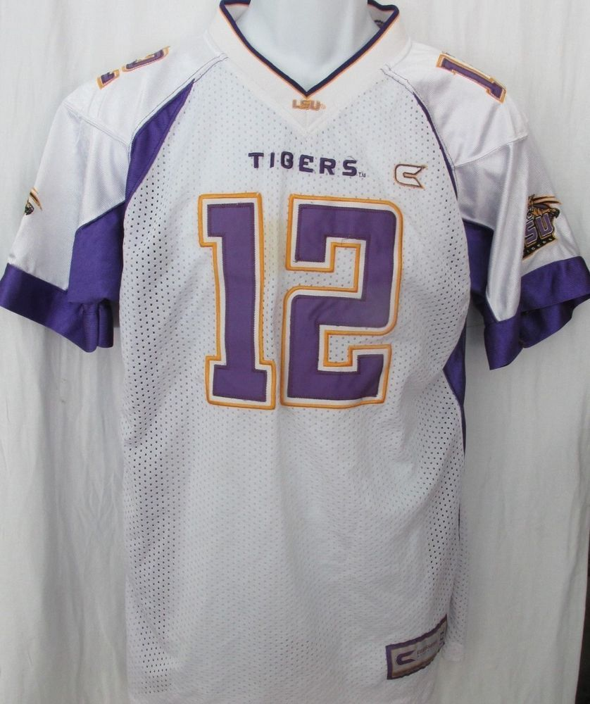 competitive price 9ec13 2f29a BOYS GIRLS YOUTH LSU TIGERS LOUISIANA BENGAL TIGERS FOOTBALL ...