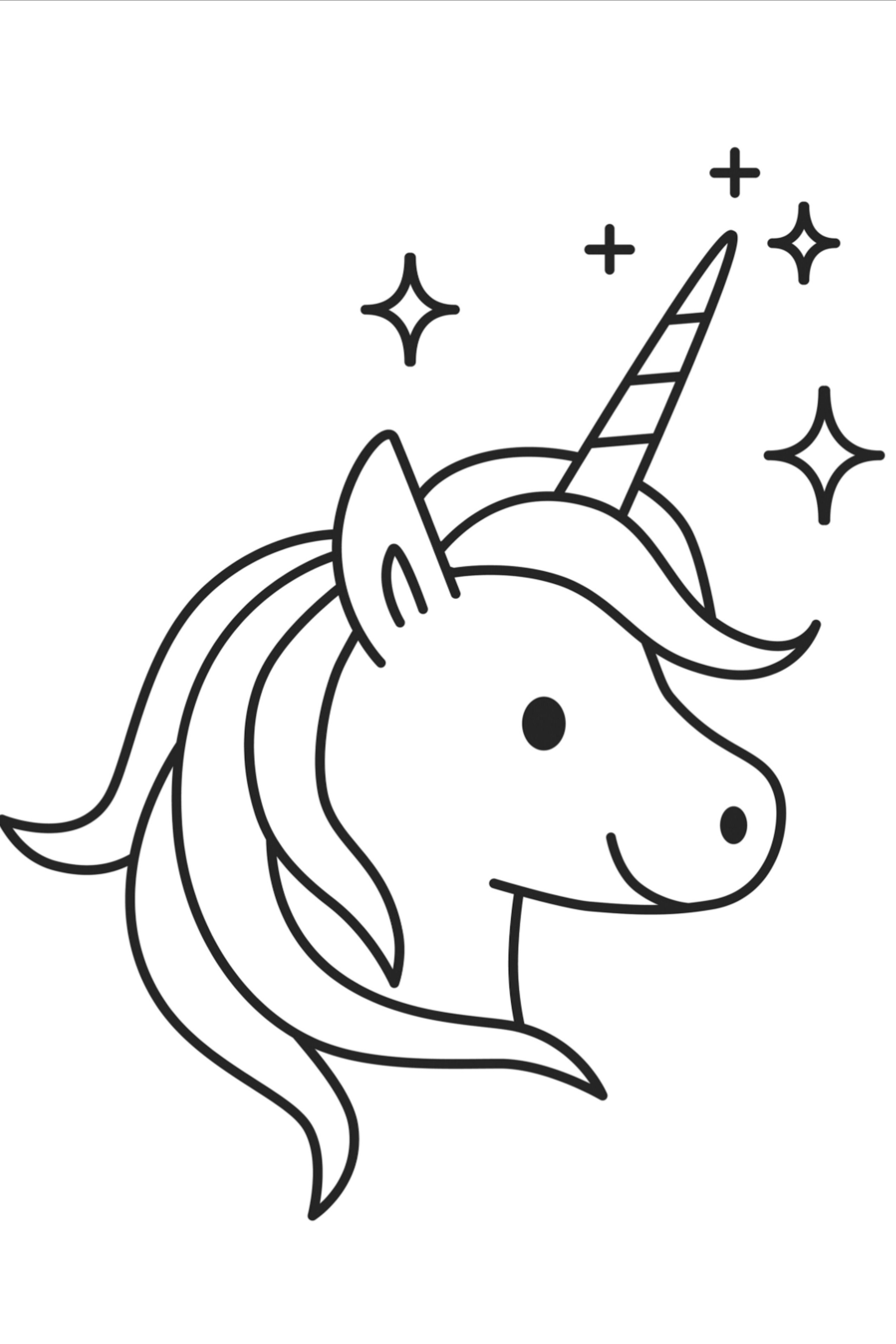 100 Unicorn Coloring Pages For Kids Unicorn Coloring Pages Unicorn Drawing Easy Drawings