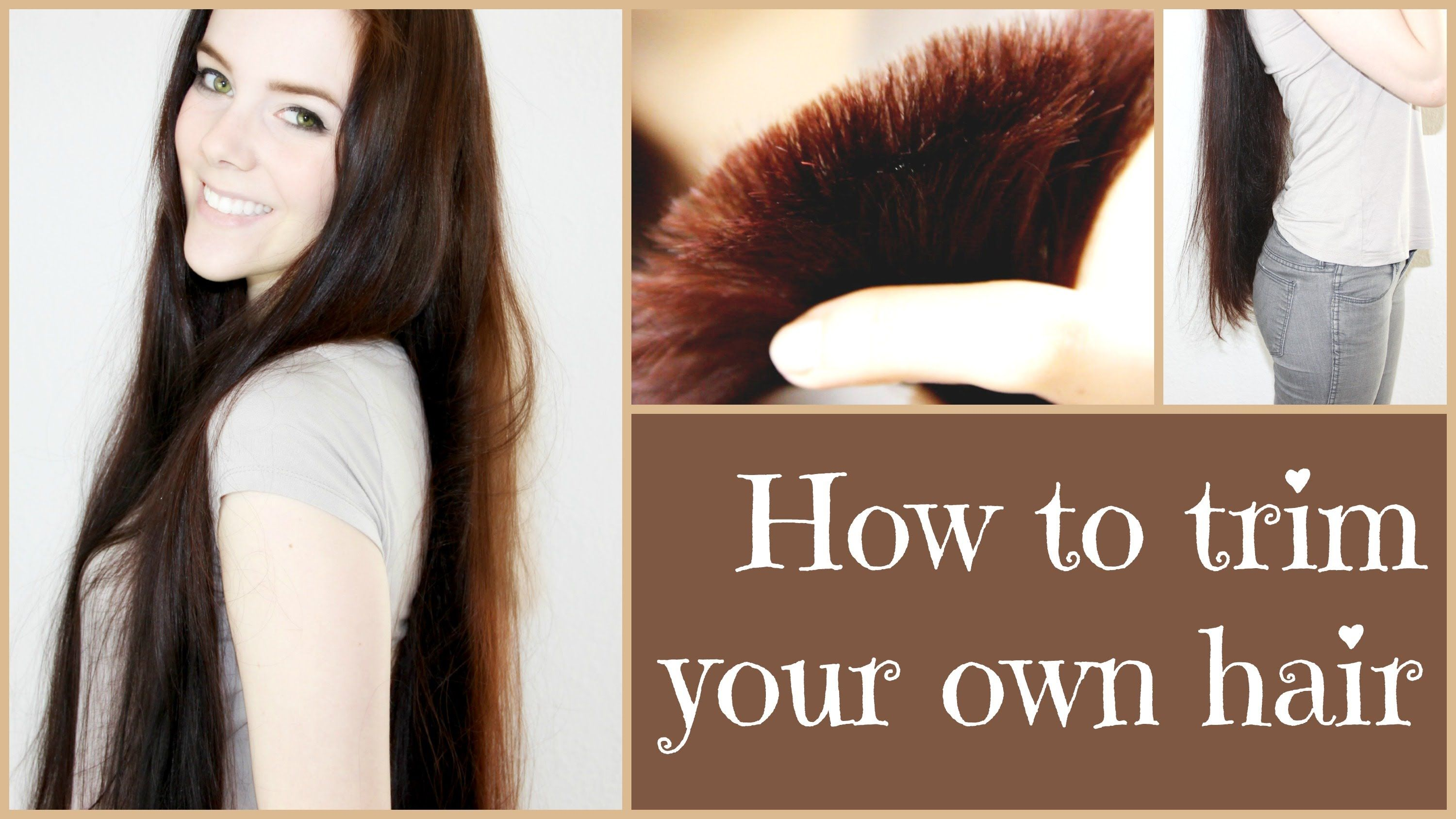 how to cut your own haie