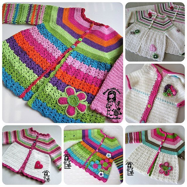Crochet Flower Cardigan Pattern : flower cardigan, free cardigan patten, crochet for ...