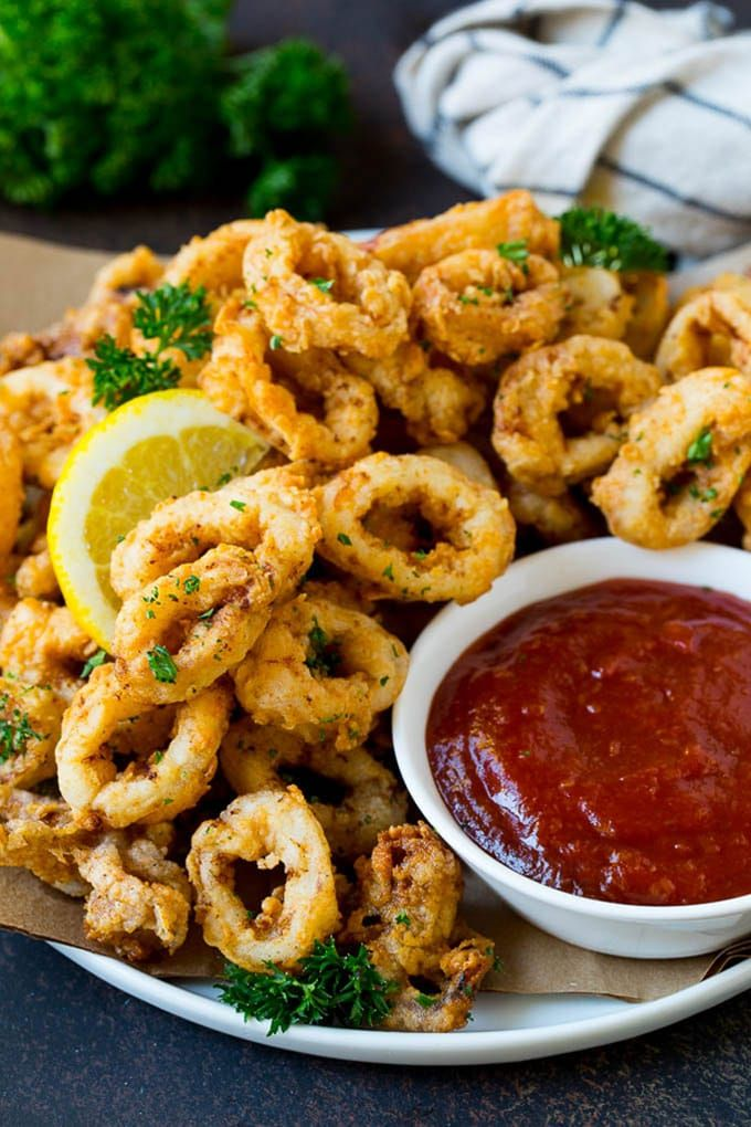 Photo of Fried Calamari Recipe – Dinner at the Zoo