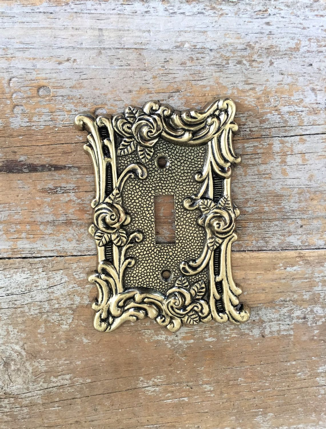 Brass Light Switch Covers Enchanting Light Switch Cover Lightswitch Plate Brass Light Switch Cover Design Ideas