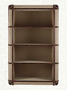 Seville Canvas Bookshelf From ArhausCom