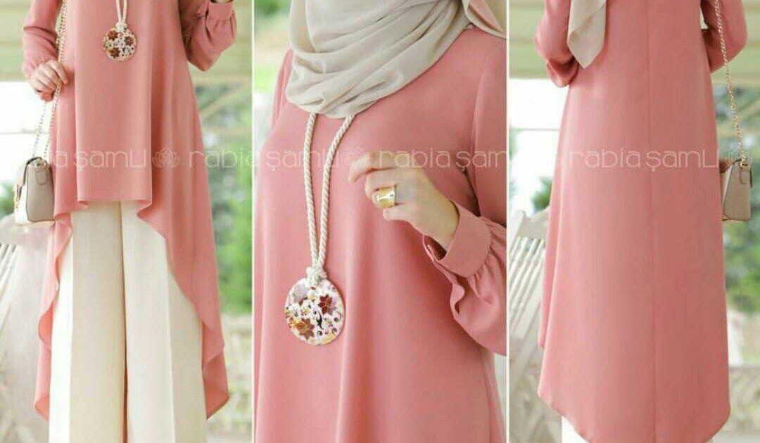 Gambar Baju Gamis Pink Dusty Baju Setelan Celana Fashion Wanita Berhijab Model Terbaru Download 100 Model Gamis Batik Ko Wanita Setelan Celana Baju Muslim