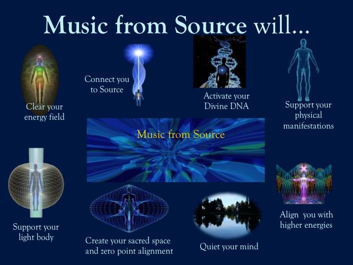 Music From Source Emanates From The 12th Chakra Stellar Gateway