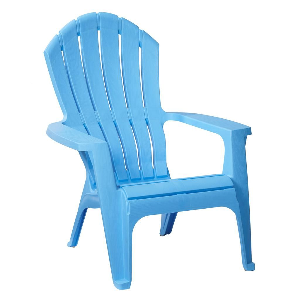 Home Depot Adirondack Chair Plastic Chairs For Rent Realcomfort Periwinkle Outdoor 8371 94 4304 The