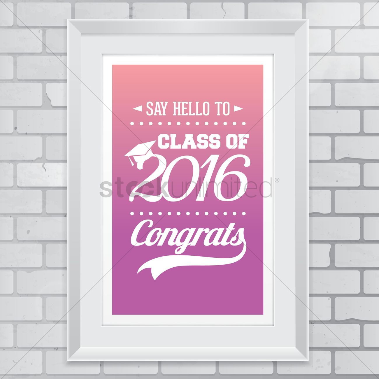 Photo of Graduation wallpaper vector illustration , #spon, #wallpaper, #Graduation, #illu…