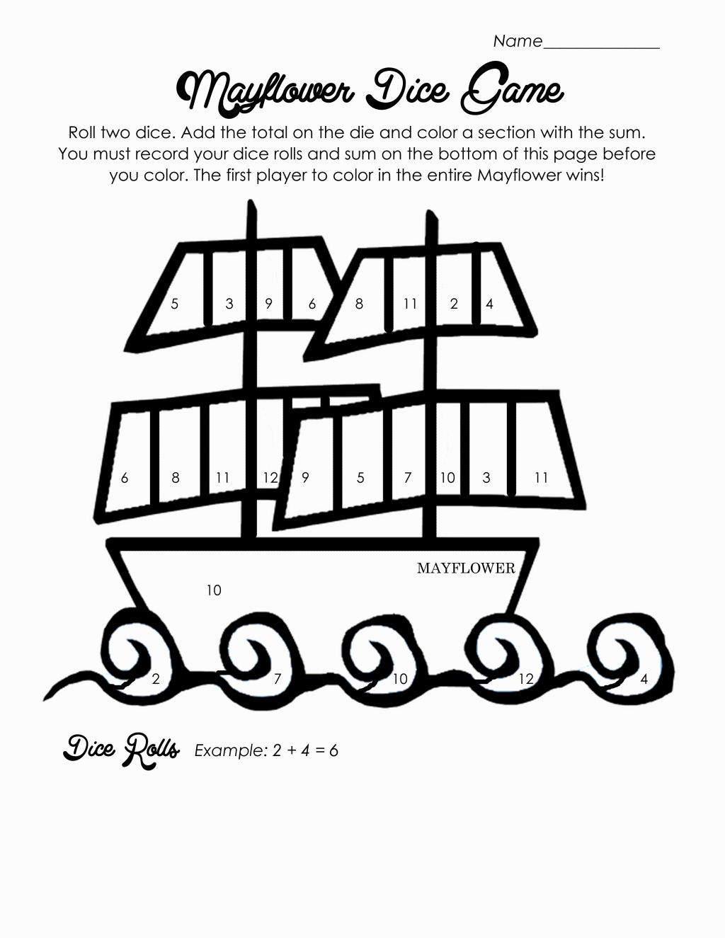 Mayflower Coloring Pages | Coloring Pages | Pinterest