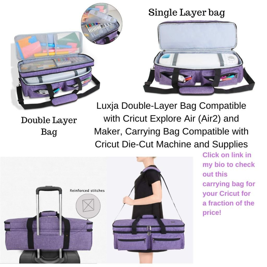 Compatible Bag Totes For Cricut Machines In 2020 Cricut Cricut Machines Rolling Bag