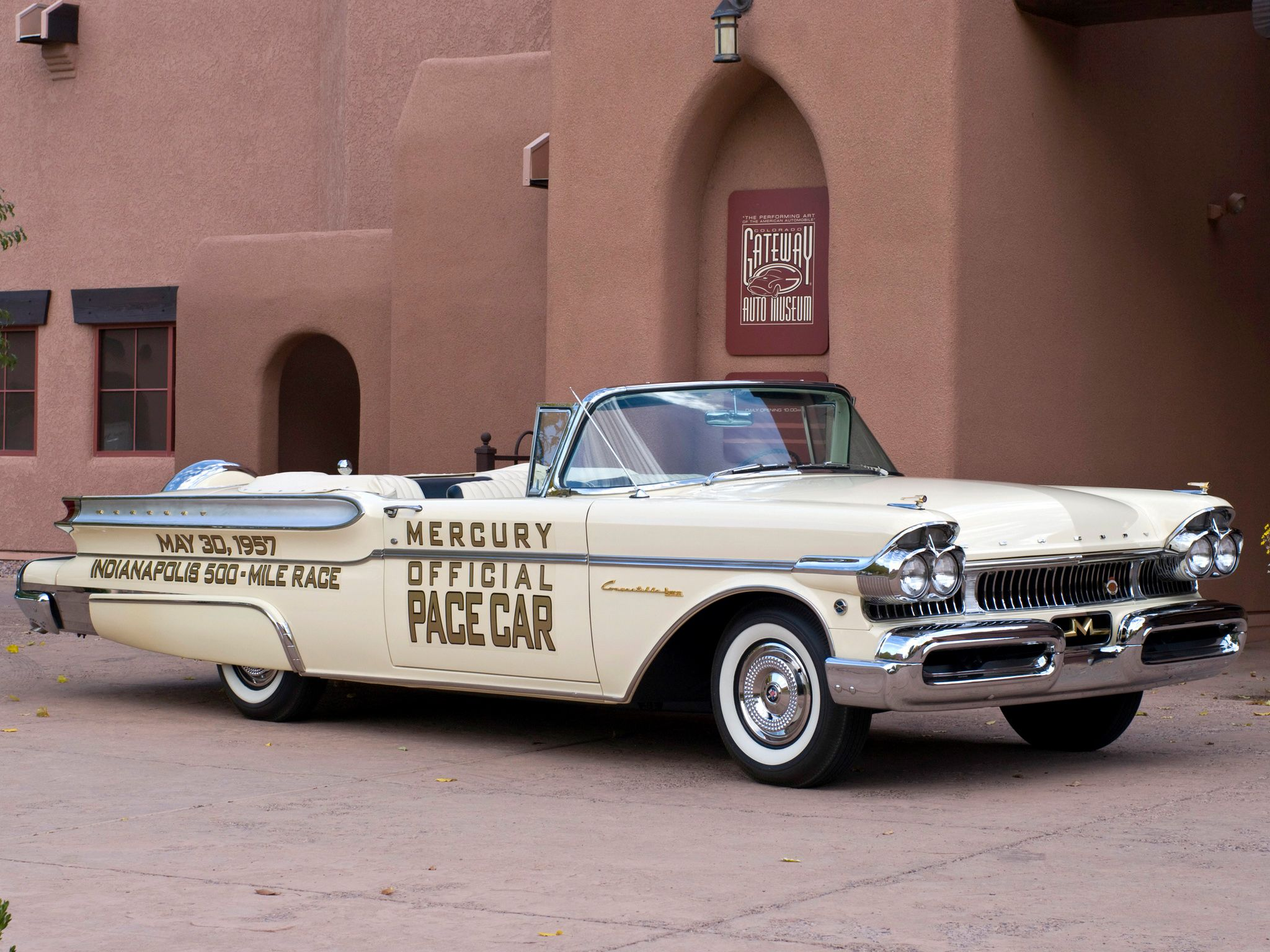 1957 Mercury Turnpike Cruiser Convertible Indy 500 Pace