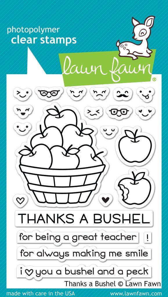 thanks a bushel & dies