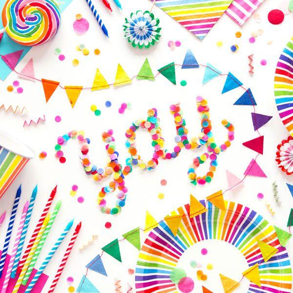Yay Oh Happy Day Confetti Party Happy Day Art Party
