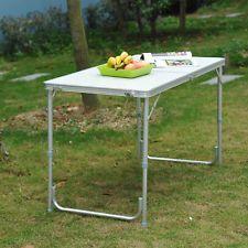 4ft Folding Aluminum Table 30 Ebay Aluminum Table Camping Picnic Table Folding Picnic Table