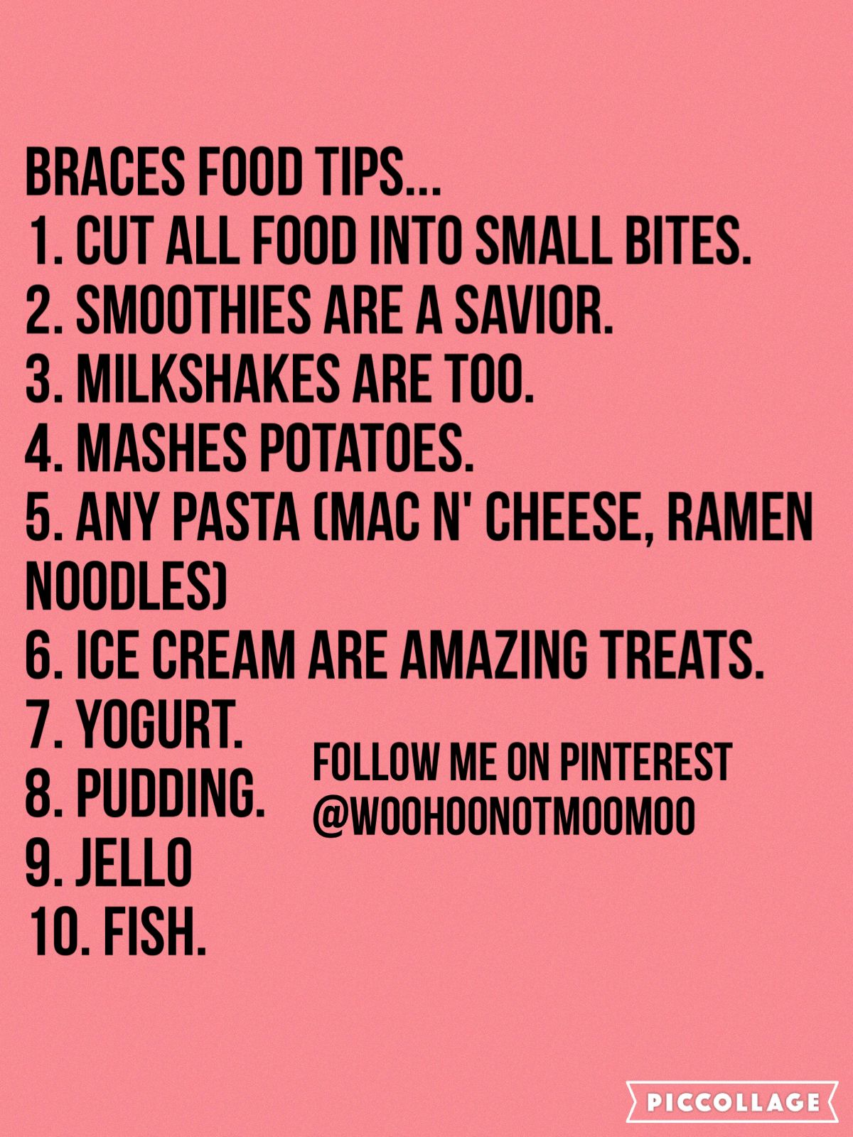 What Kind Of Food Can You Eat After Getting Braces