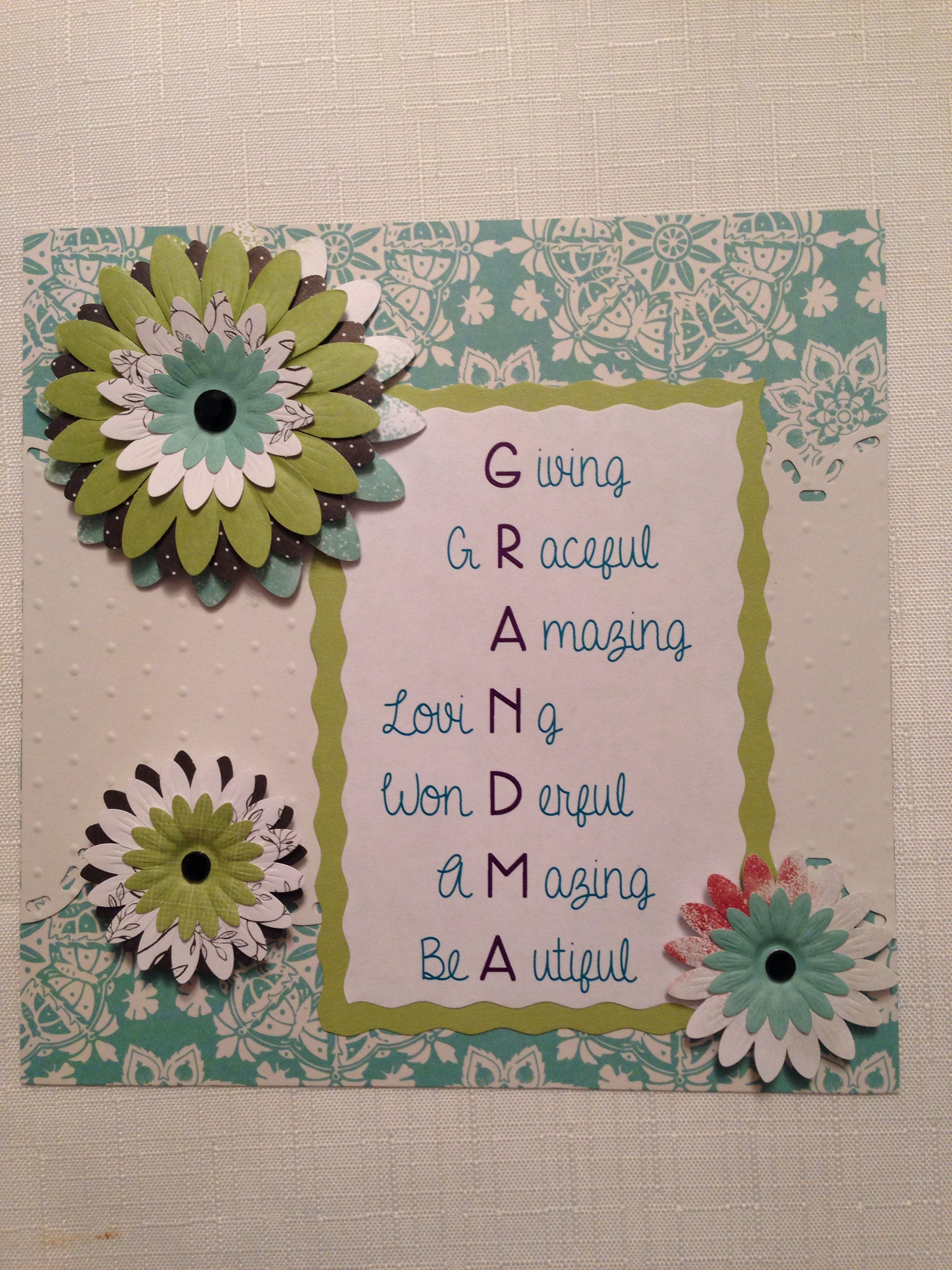 Pin By Christine Jarka On Diy Crafts Card Making Birthday Diy Mother S Day Cards For Grandma Mother S Day Diy