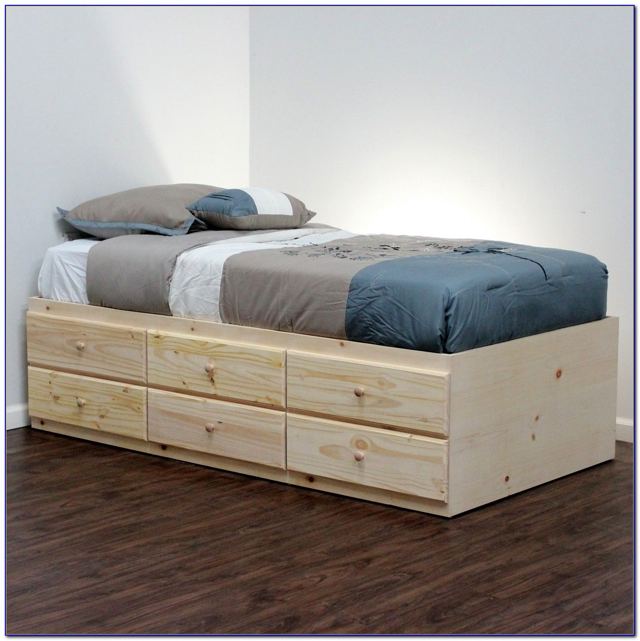 Twin Bed Frame With Storage Xl Twin Bed Frame Ikea | College | Bed Frame With Storage