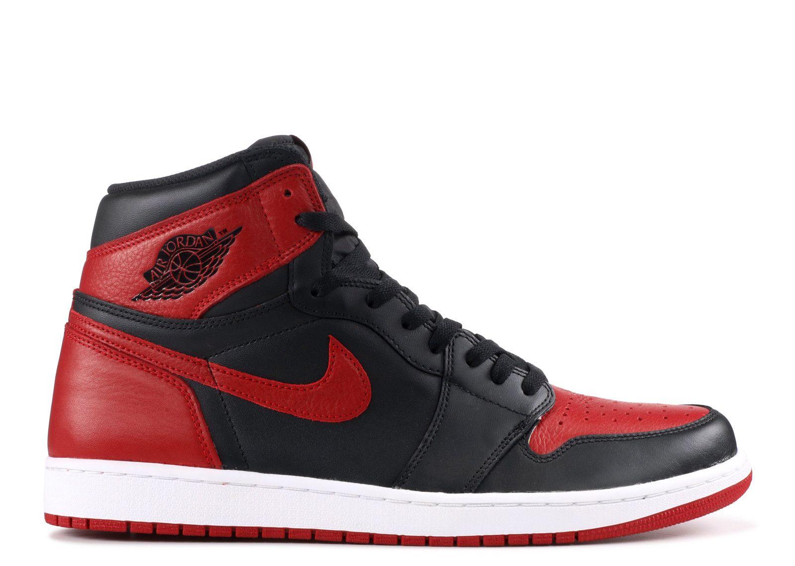 Air Jordan 1 Retro High Og Banned 2016 Release Air Jordans