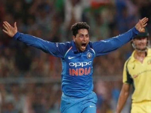 2nd Odi Vs Aus Kuldeep Bhuvneshwar Star As India Take 2 0 Lead Http Sportscrunch In 2nd Odi Vs Aus Kuldeep Bhuvneshwar St Kuldeep Yadav Cricket Star India