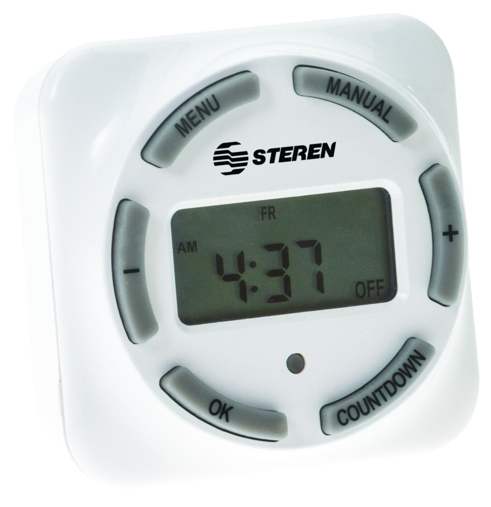 8 Event Digital Timer With Liquid Crystal Display Lcd Temp 08e