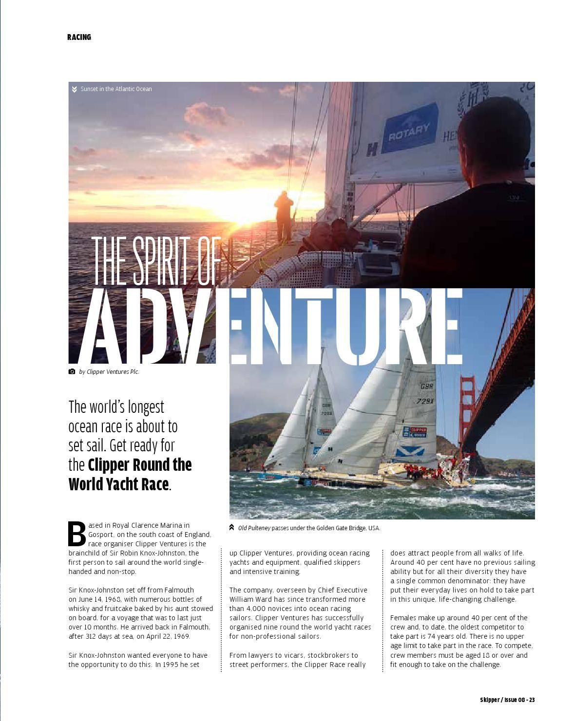SKIPPER MAY 2015 ISSUE 8   Magazin
