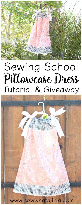 Pillowcase Dress Tutorial | Kleider und Nähen