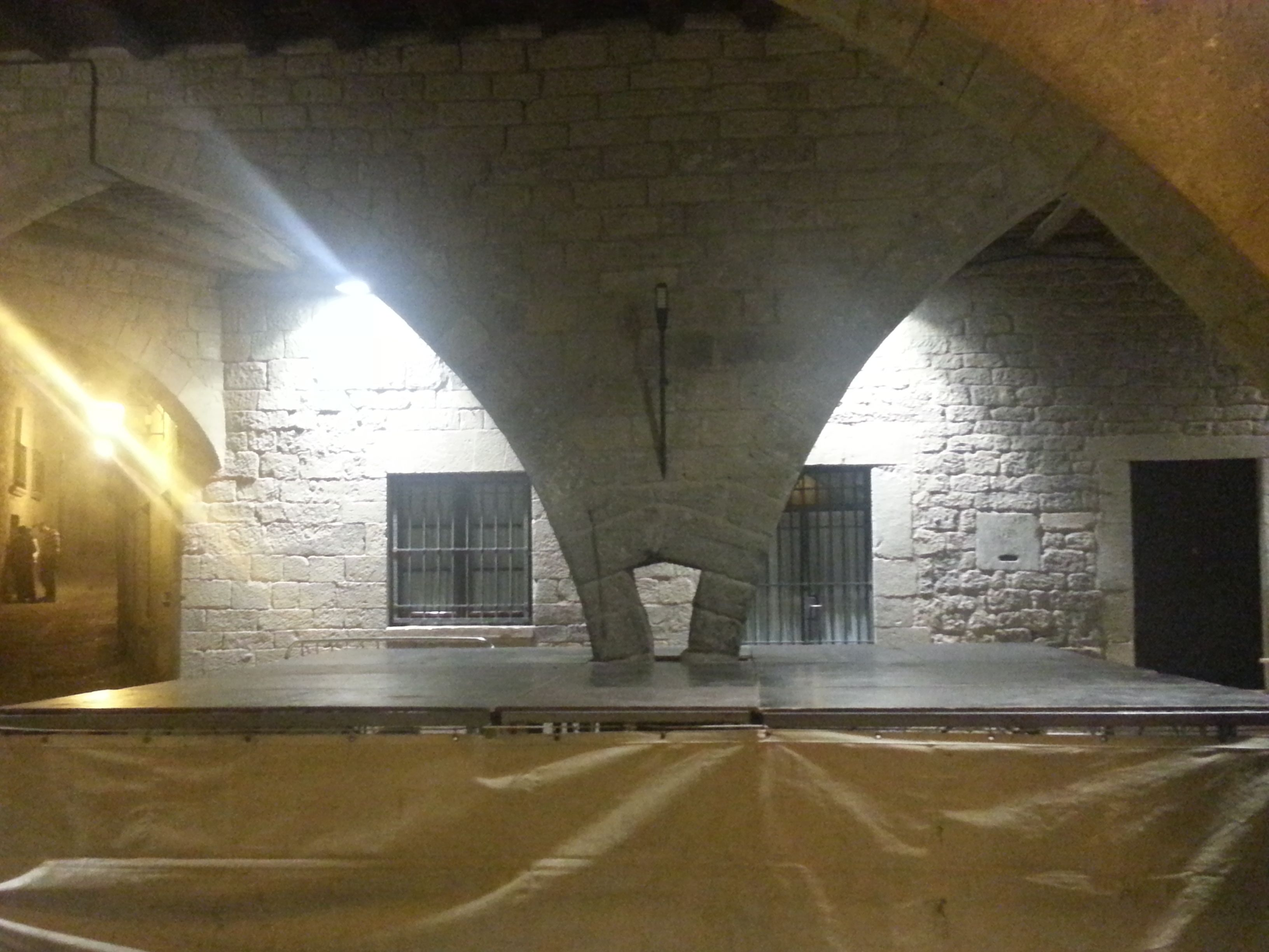Arcos de la Plaza de Sos del Rey Católico.