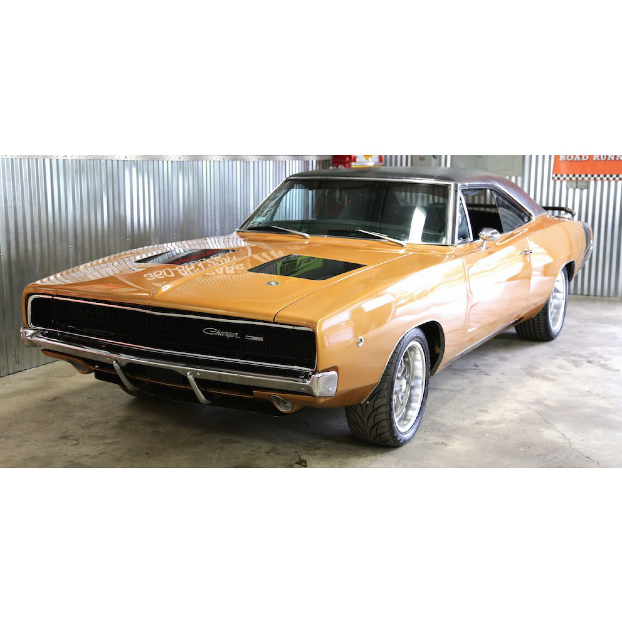 1968 Dodge Charger For Sale Solid Example With Original Panels Factory Bucket Seats Strong Running 383 4 Dodge Charger For Sale Sell Car 1968 Dodge Charger