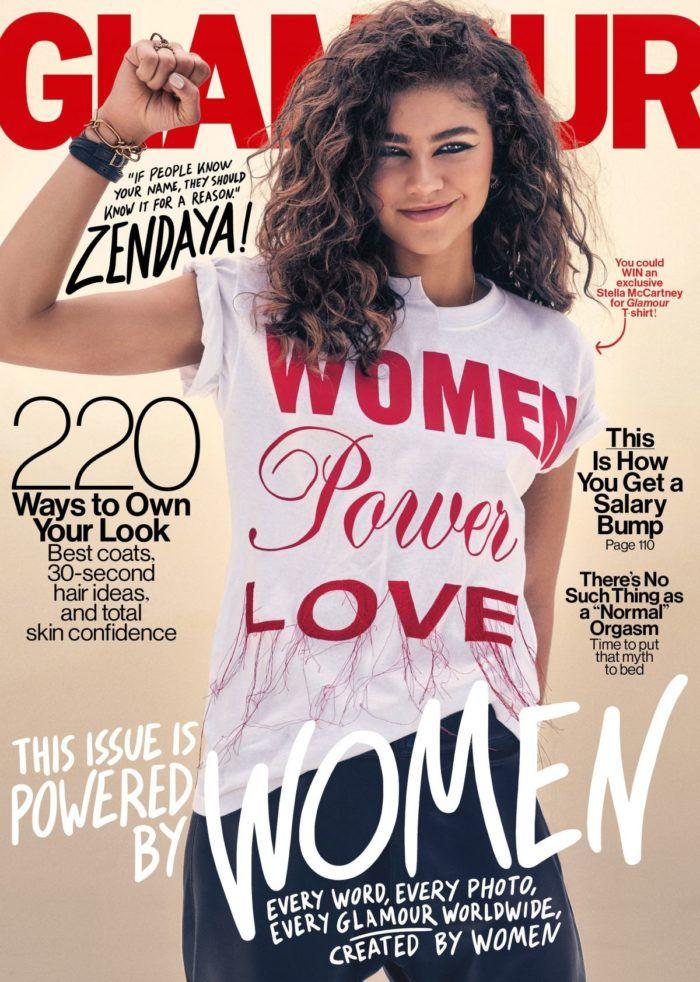 Zendaya, Glamour November 2017 Issue | Black Models in
