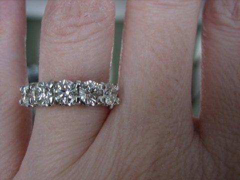 1 Carat 5 Stone Diamond Ring 1 Carat 5 Stone Diamond Eternity Ring 1 Carat 5 Stone Diamond Ring