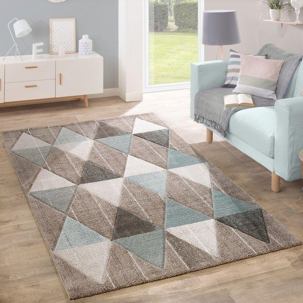 designer teppich rauten pastellt ne beige in 2019. Black Bedroom Furniture Sets. Home Design Ideas