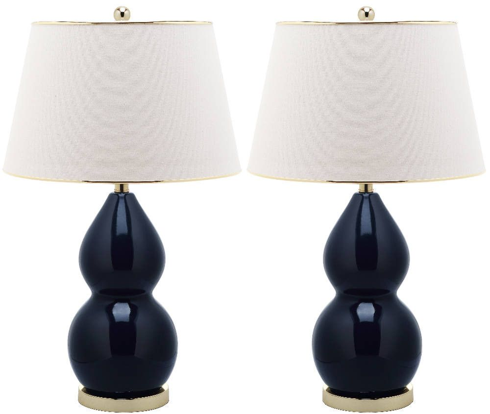 Double Gourd Ceramic Lamps Set Of 2 Lamp Sets Ceramic Table Lamps Table Lamp