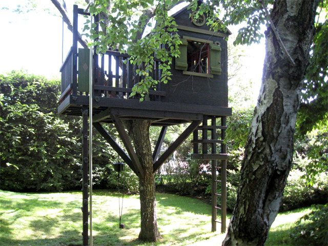 Play Structures For Kids Long Island Tree House Treehouse