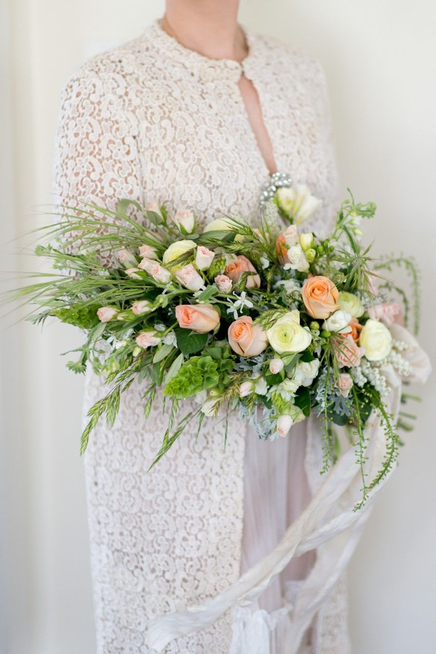A Stunning Sheath Bridal Bouquet Of Country Blooms Bridal Bouquet Prices Bridal Bouquet Bridesmaid Bouquet