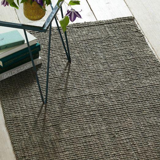 Jute Boucle Rug Clay Home Rugs Jute Wool Rug Modern Area Rugs