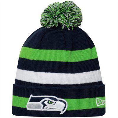 8477504a New Era Seattle Seahawks Sport Cuffed Knit Hat! Love it for Joshua ...