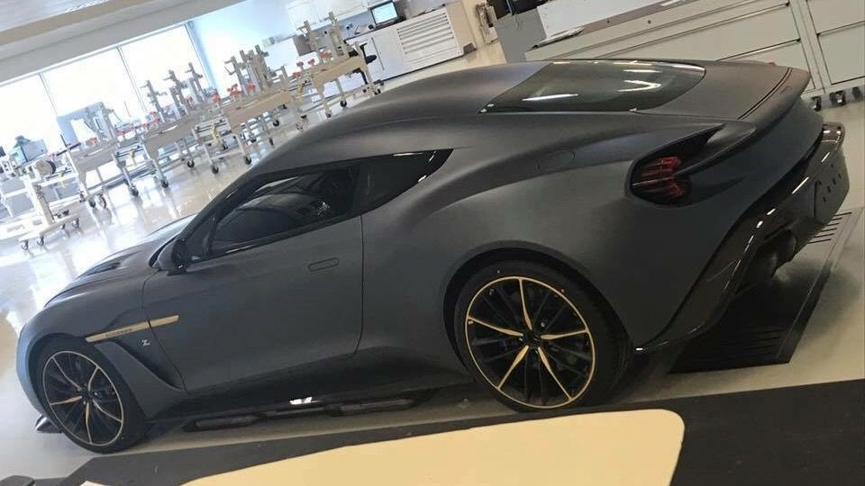 Matte Black Yes Oh Yes Aston Martin Vanquish Zagato - Black aston martin vanquish
