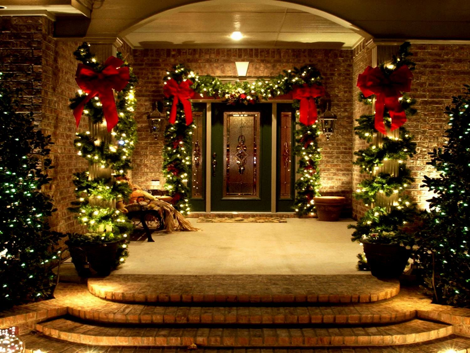 porch lighting ideas. Christmas Exterior Lighting Ideas. Outdoor Party Decoration Ideas - Decorating Of C Porch