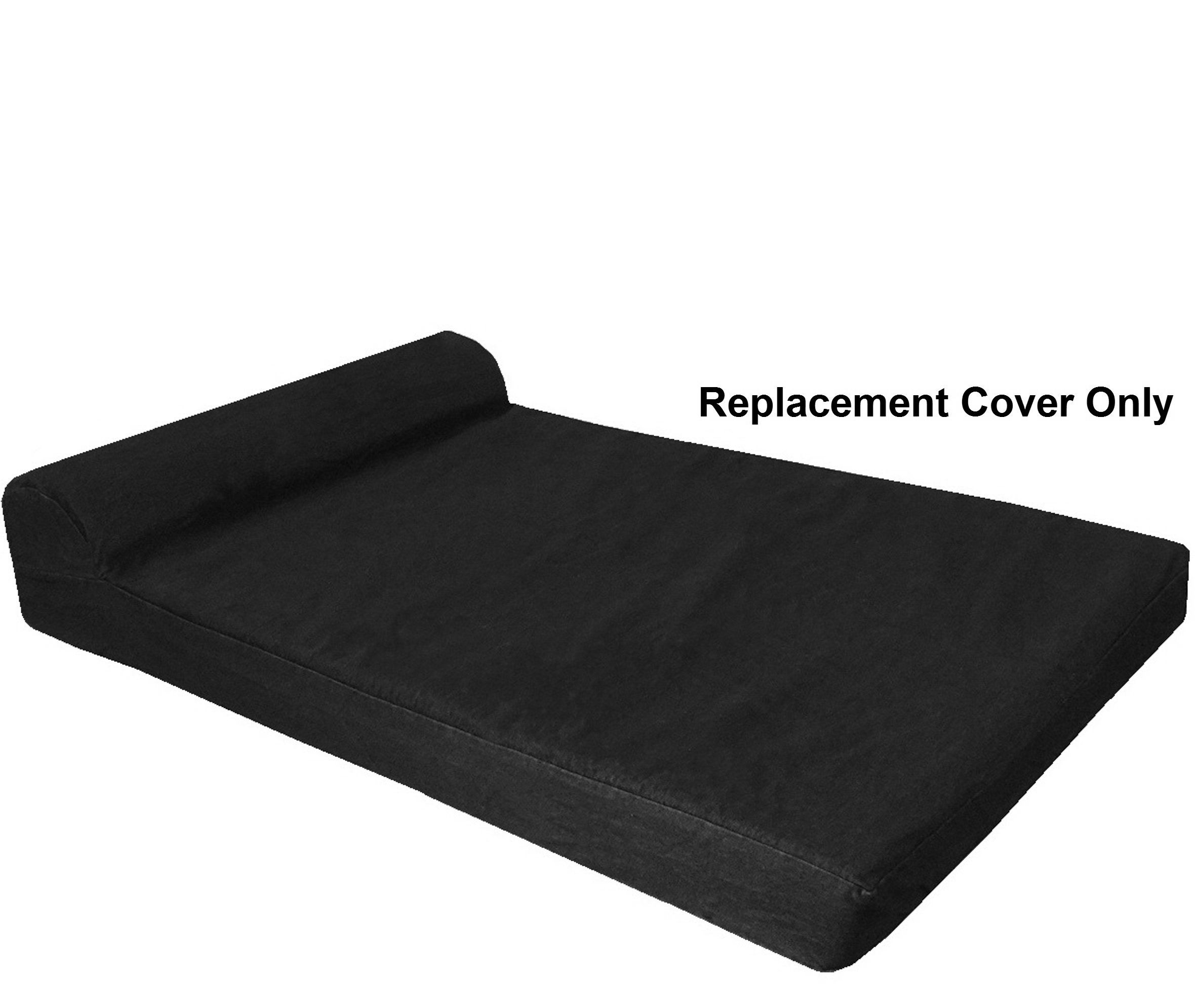 dogbed4less HeadRest Dog Pet Bed Canvas External Cover