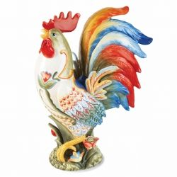 Fitz And Floyd Glennbrook Rooster Figurine
