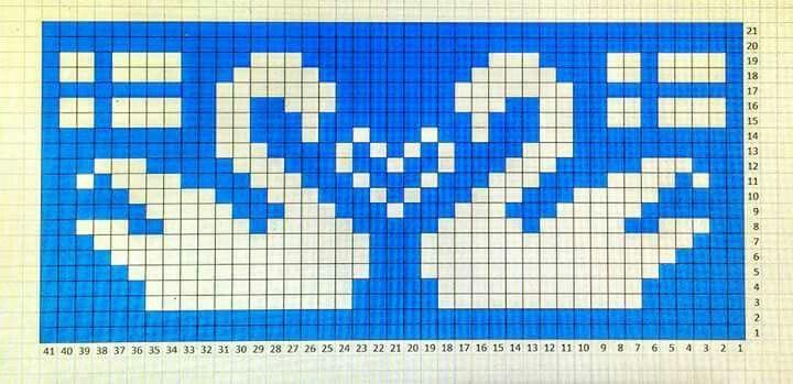 Salo joutsen   lumiukko   Pinterest   Stitch, Chart and Patterns