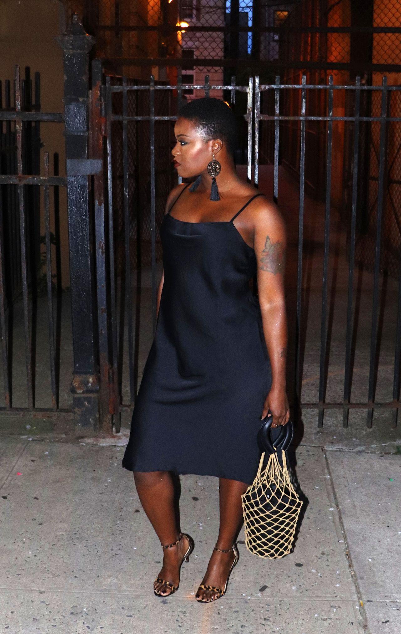 36th Birthday Vibes Slip Dress Outfit Black Slip Dress Black Slip Dress Outfit [ 2020 x 1280 Pixel ]