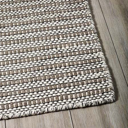 The Rug Collection Torquay Ivory Taupe