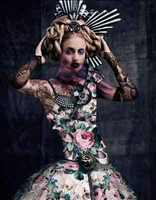 Modern Medieval Photoshoots: Norman Cavazzana Rocks Russian Queens for M Magazine