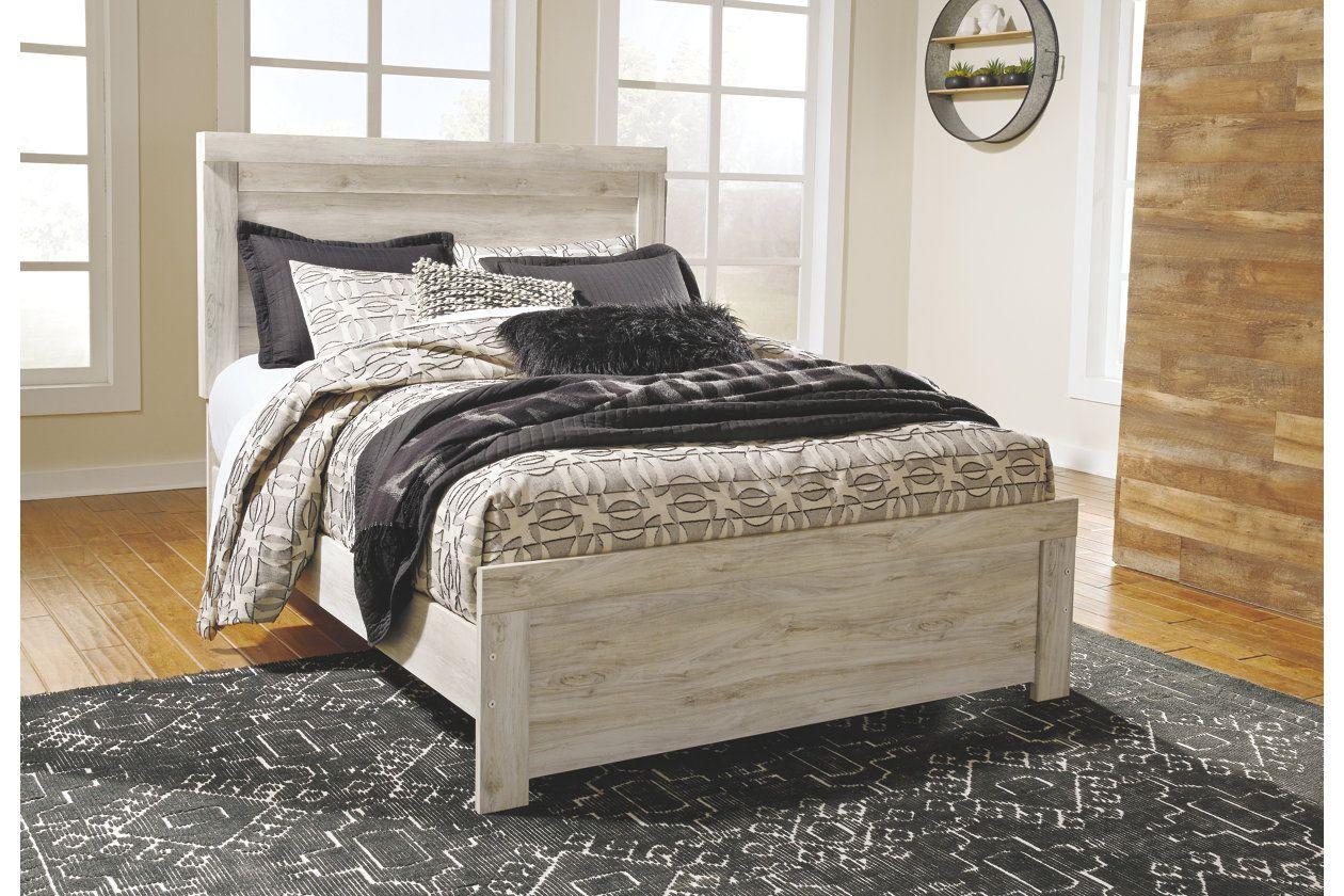 Bellaby Queen Panel Bed Queen panel beds, Queen platform