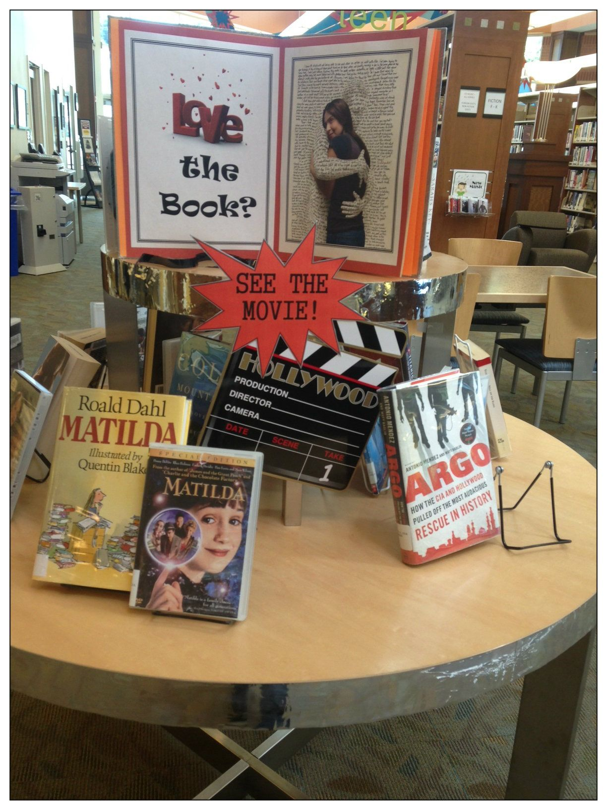 Love The Book See The Movie Display At Brunswick Md