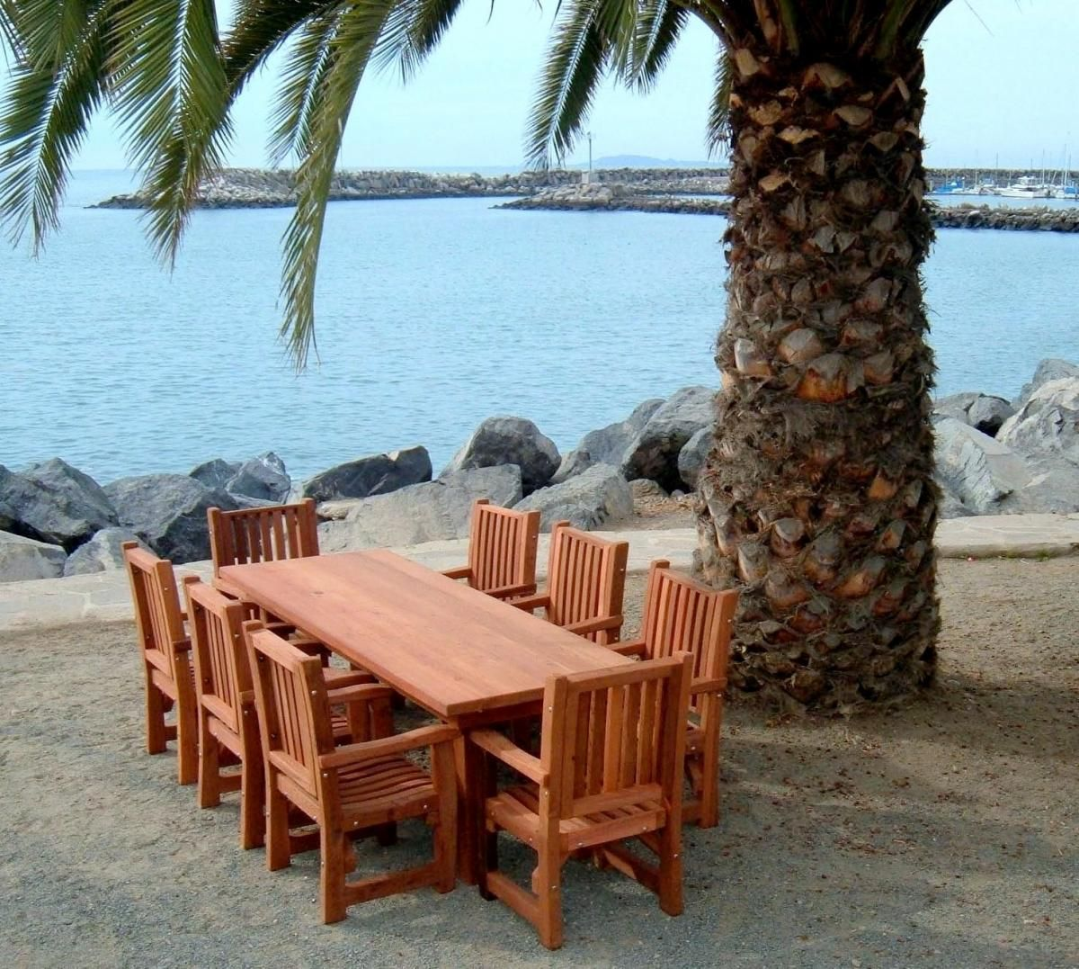 San Francisco Patio Table Options 8 L 34 1 2