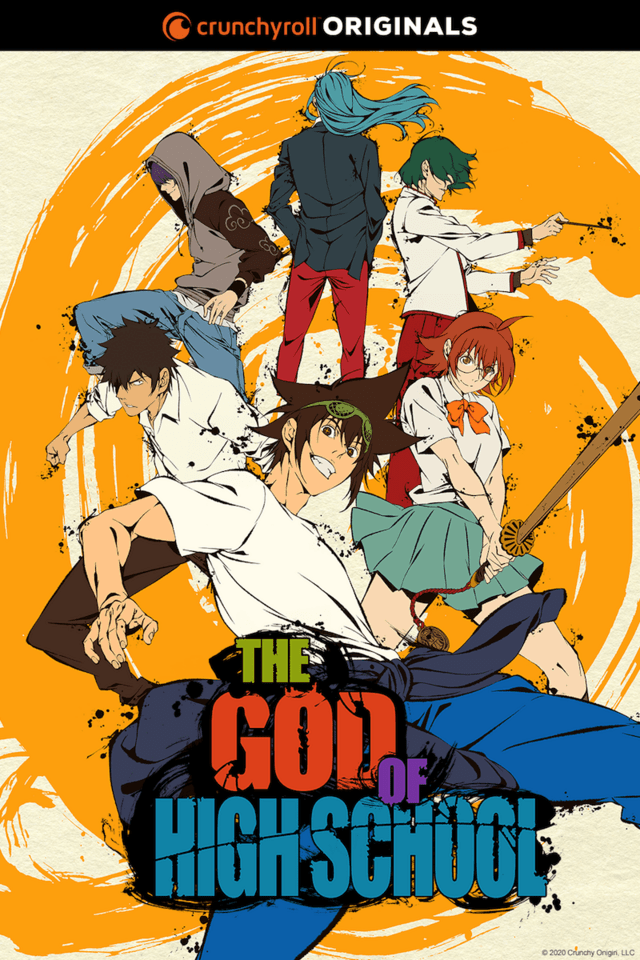 The God of High School di 2020 Animasi tv, Webtoon, Seni